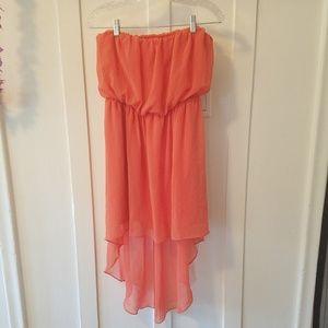Double Zero Strapless Dress